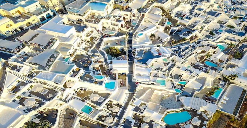 santorini Grækenland