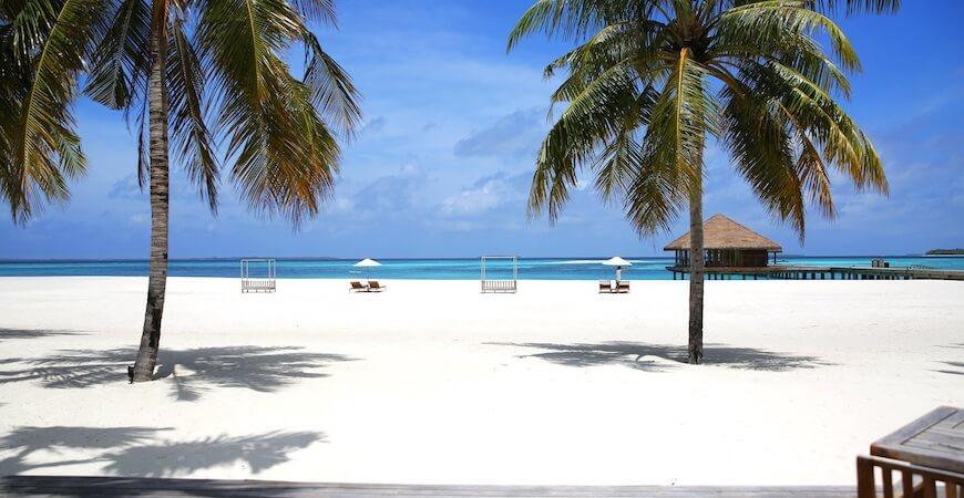maldiverne rejse strand