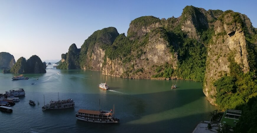 rejs til halong bay Vietnam