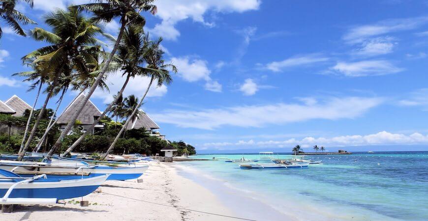 Rejs til Cebu Filippinerne