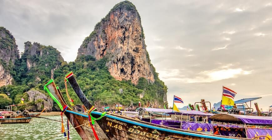 rejs til Krabi Thailand