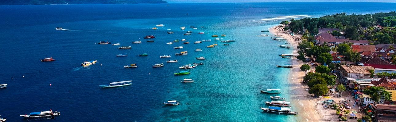 rejs til gili øerne lombok indonesien