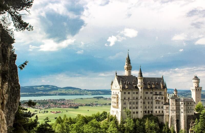 Schloss-Neuschwanstein-tyskland