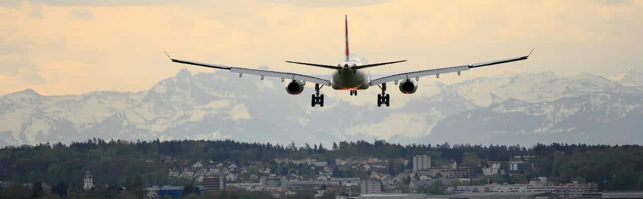 flyrejse og lufthavn