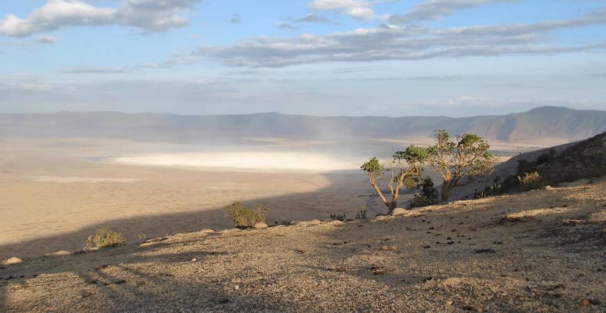 Ngorongoro krateret tanzania