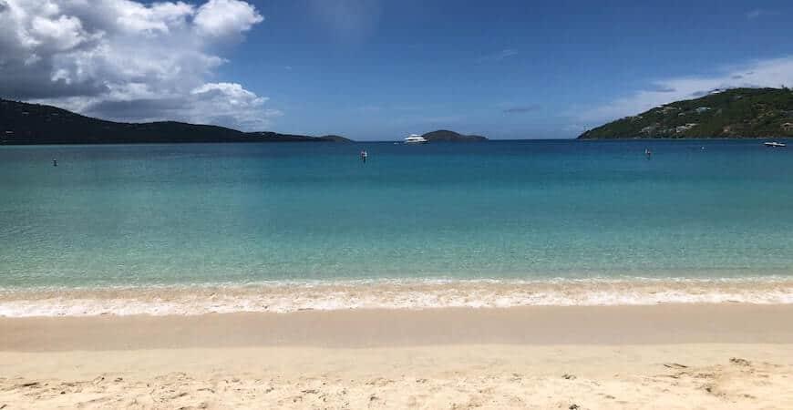 jomfruøerne strand