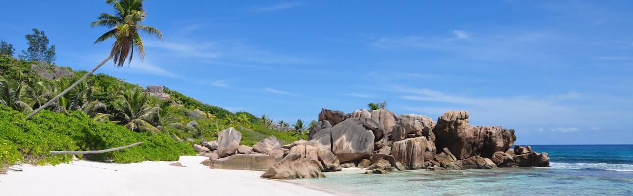 seychellerne strand