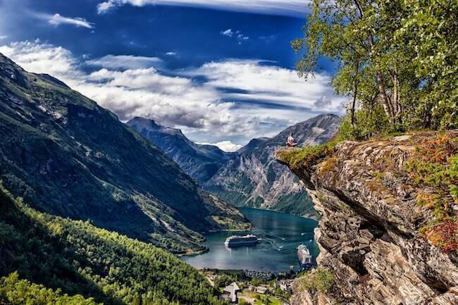 krydstogt-norge-geirangerfjord
