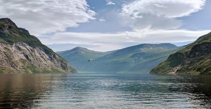geirangerfjord norge