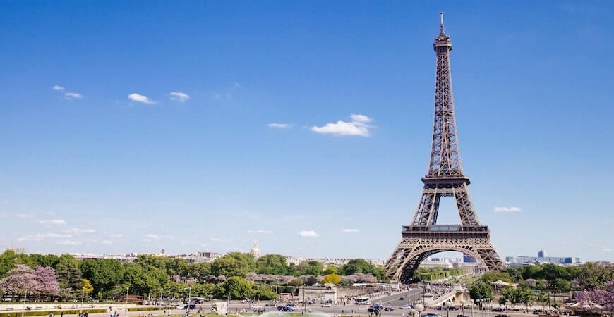 Eiffeltårnet paris