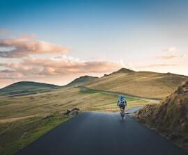 cykelrejser i naturen
