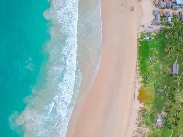 Nacpan beach strand
