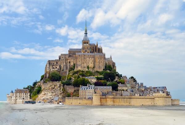 Mont Saint-Michel normandiet