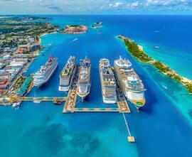 krydstogt caribien